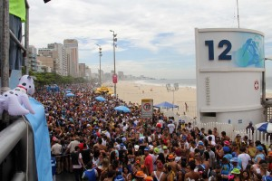Rio Street Carnival on the Beach