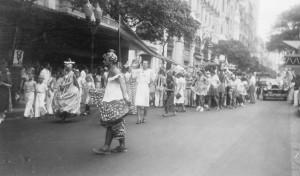 Old Rio Carnival Parade