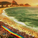 rio carnival gay beach