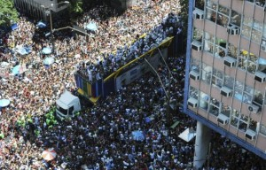 Rio Carnival Street Parade Route
